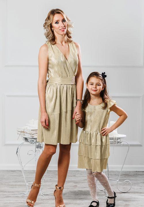 Комплект платьев для мамы и дочки «Гафре» М-2011