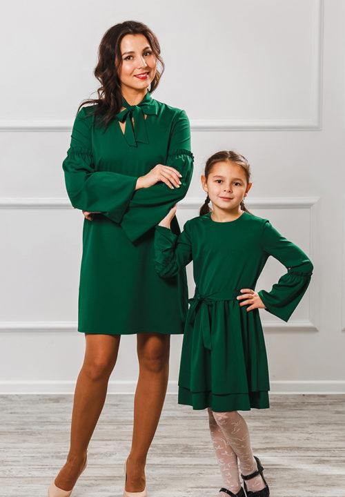 """Комплект платьев мама+дочка """"Камилла"""" М-2006"""