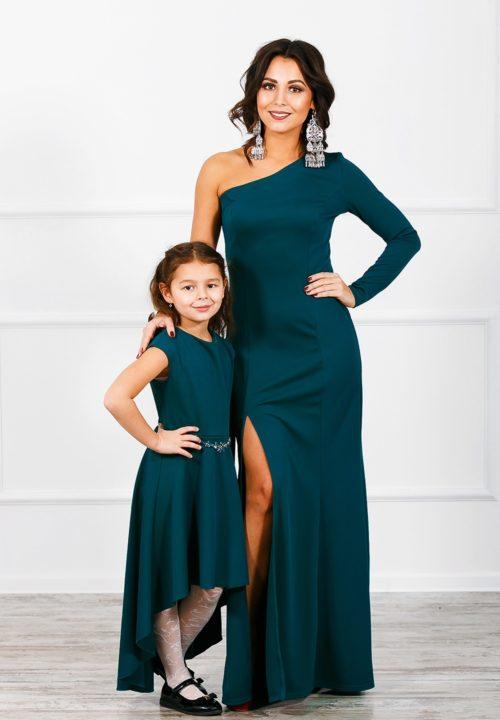 Комплект платьев мама и дочка «Богема» М-270