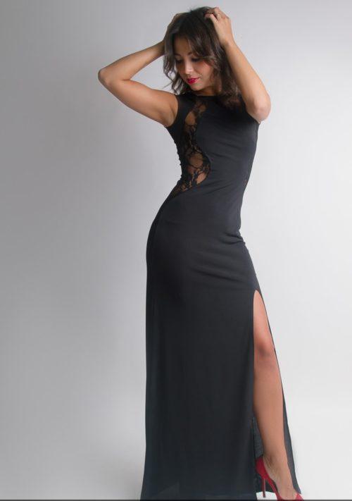 Платье в пол «Престиж» М-136