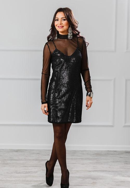 Коктейльное платье «Сандра» М-1009