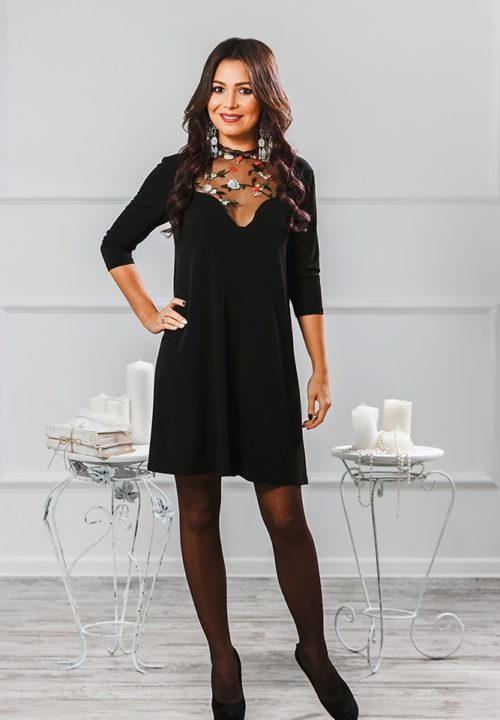 Коктейльное платье «Саманта» М-1014