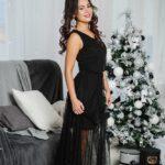 """Вечернее платье в пол """" Жасмин"""" М-1054"""