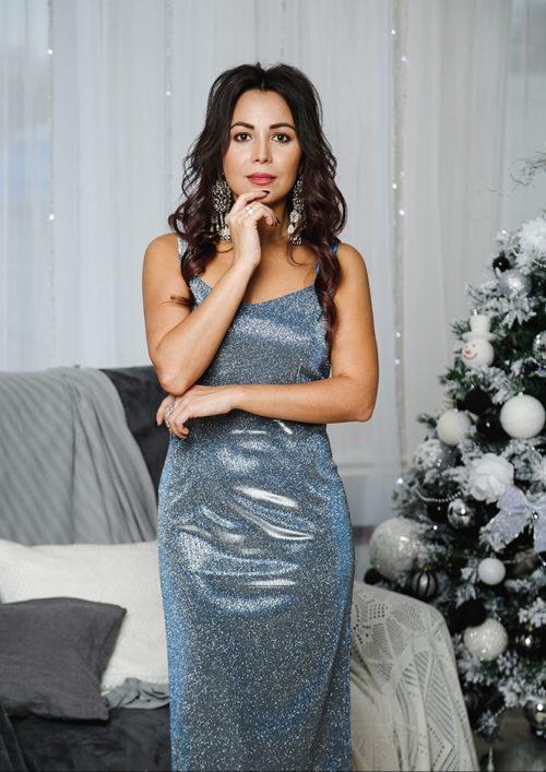 Коктейльное платье-миди «Джесика» М-1052