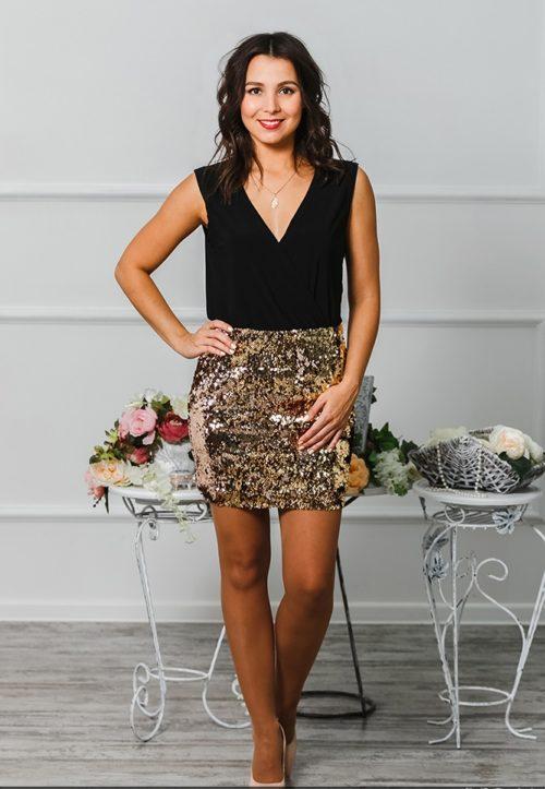 Коктейльное платье «Бурлеск» М-1015