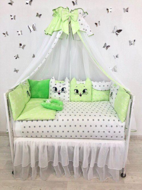 Комплект в кроватку «Котятки»
