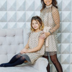 """Комплект платьев для мамы и дочки """"Сити"""" М-2112"""