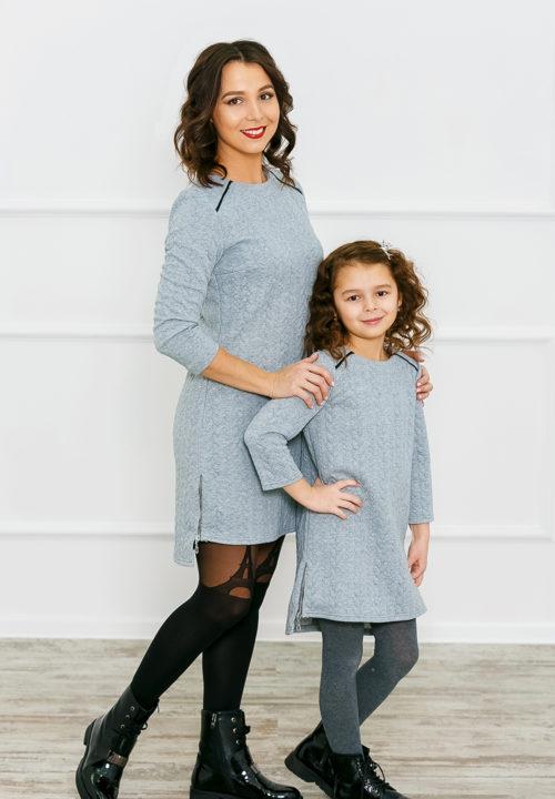"""Платье-туника """"Косы"""" М-174"""