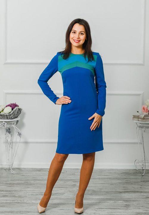 """Платье """"Радуга"""" М-1004"""