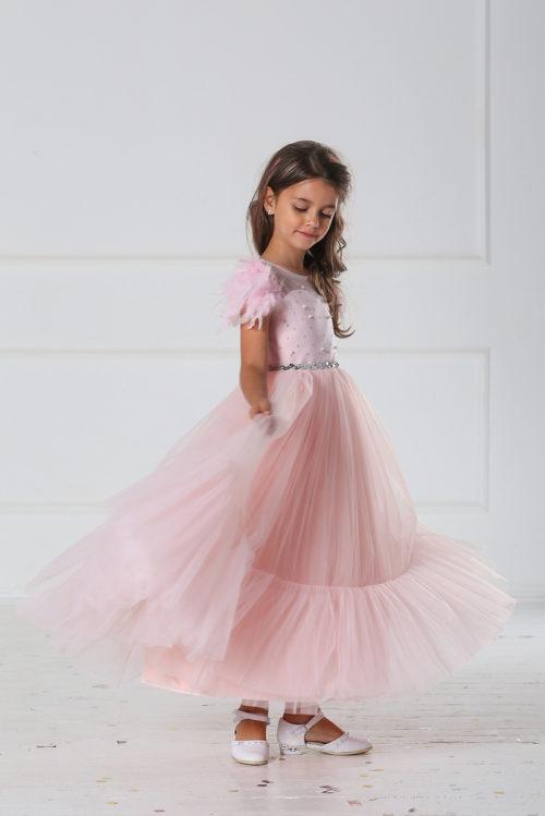 Праздничное платье для девочки – Ангелина