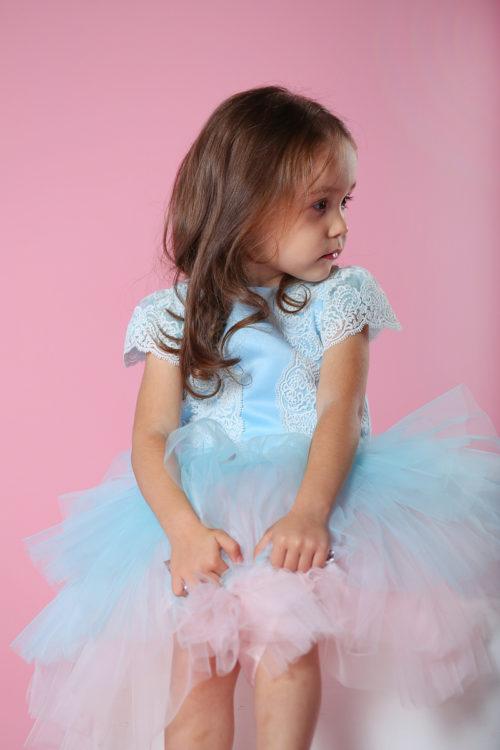 Платье для девочки на утренник – Николь