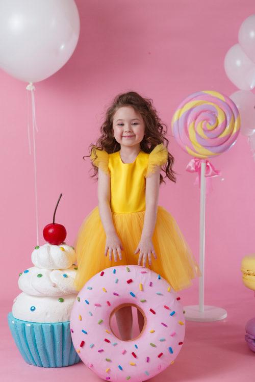 Платье для девочки на выпускной из детского сада – Офелия