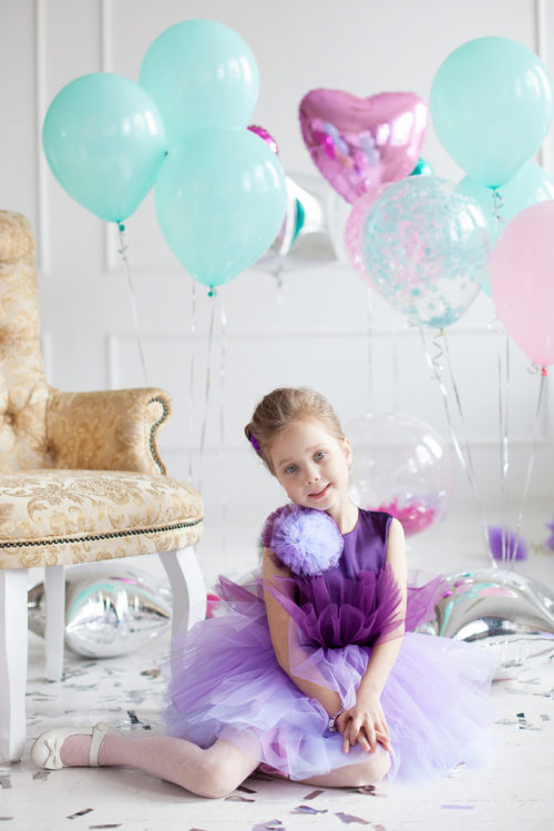 Праздничное платье для девочки – Зефирка
