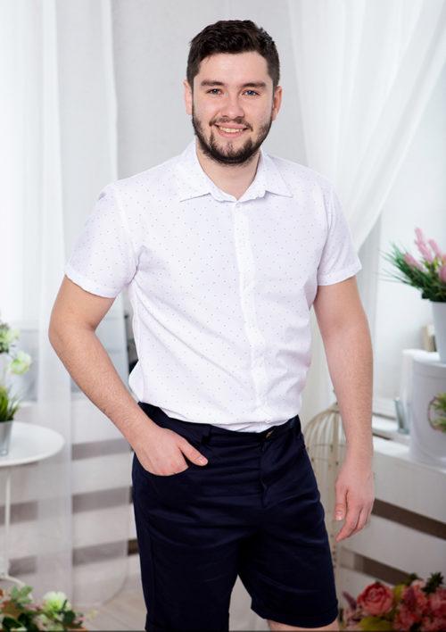 Одинаковые шорты для папы и сына М-2015