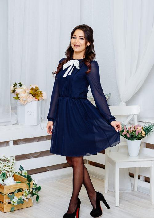 """Шифоновое платье """"Мэри"""" М-1061"""