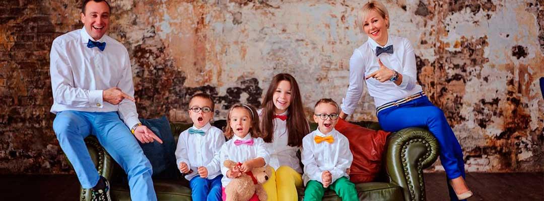 Что надеть на семейную фотосессию? Комплекты одинаковой одежды