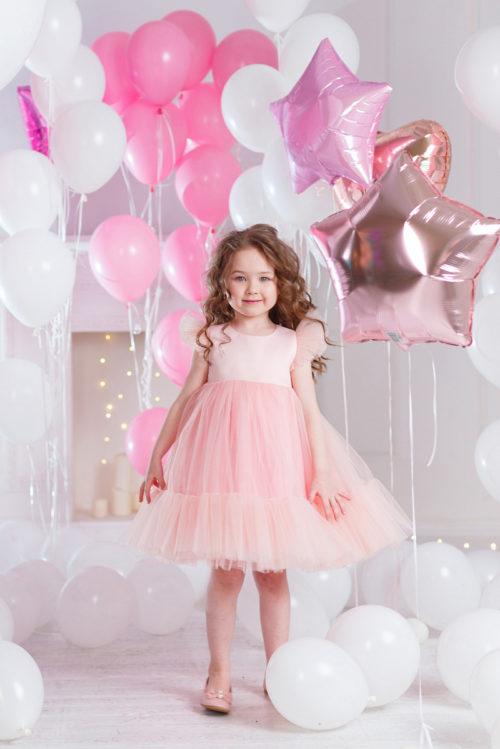 Нарядное платье для девочки – Ангел