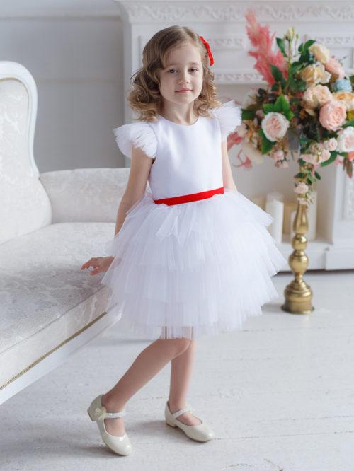 Платье для девочки на утренник – Рафаэлла