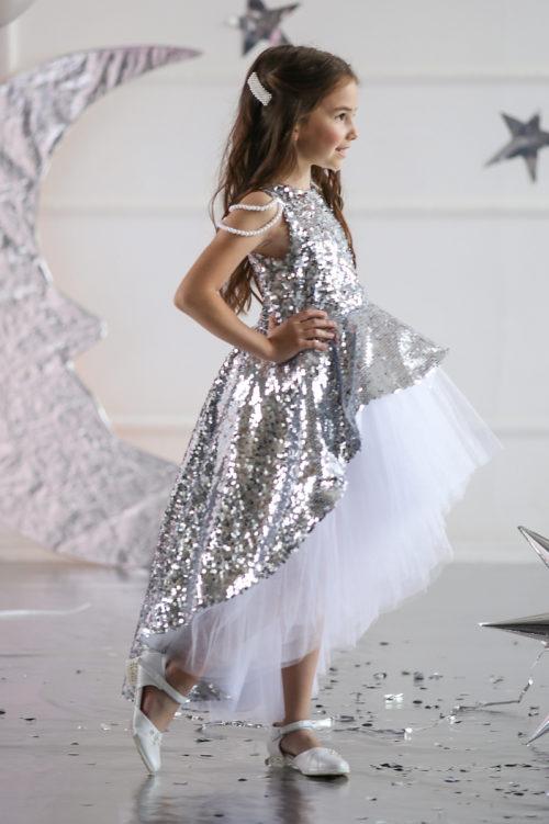 Платье для девочки с блесками – Аврора
