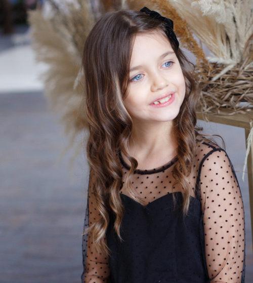 Платье для девочки с открытой спиной – Хлоя