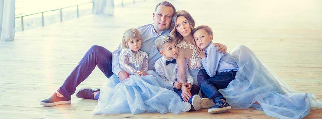 Новогодняя одежда для всей семьи