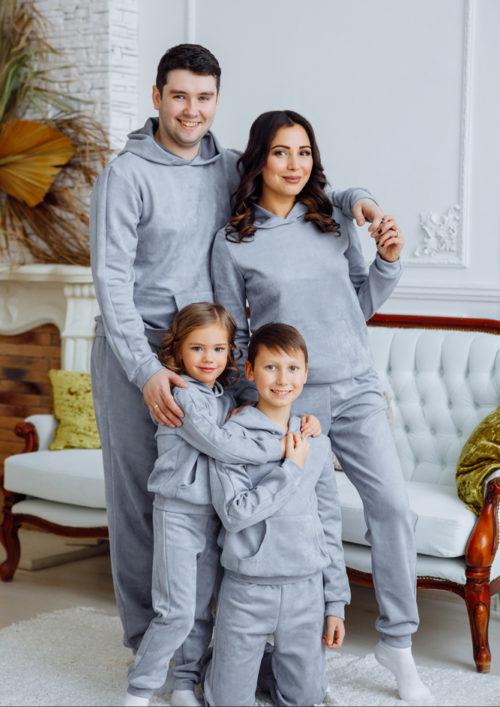 """Комплект спортивных костюмов для всей семьи """"Люкс"""" М-2160"""