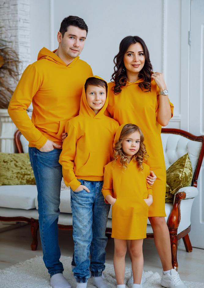 """Комплект в стиле family look """"Кейси"""" М 2167"""
